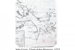 John Cown - Chart of the Shannon 1773