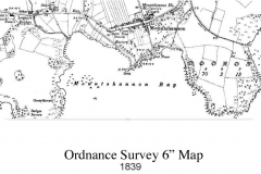 Ordnance Survey 6 inch Map 1839