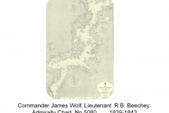 James Wolf, R B Beechey - Admiralty Chart 5080 - 1839 to 1843