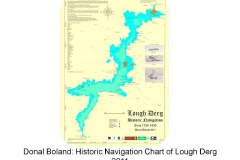 Donal Boland - Historic Navigation Chart of Lough Derg 2011