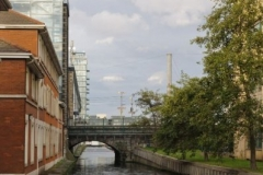 Approach to Grand Canal Dock @ C Nolan