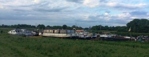 Boats and Barges at Meelick by PM